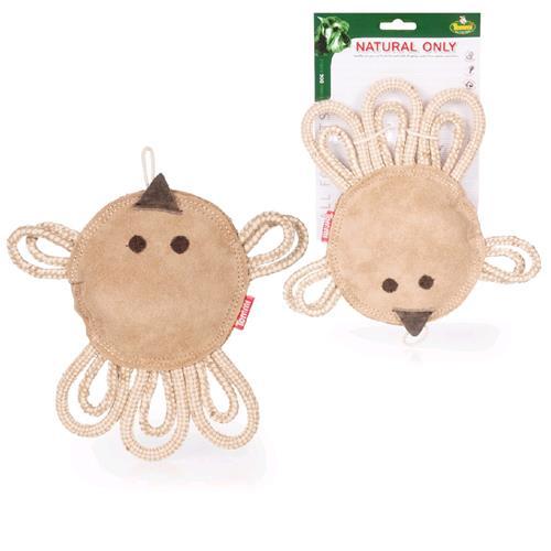 Kožená hračka pro psy Kuře, 23 cm Kožená hračka pro psy a štěňata ve tvaru kuřete