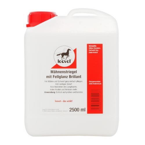 Lesk na srst LEOVET Mahnenstriegel - 2500 ml Lesk na srst LEOVET, kanystr 2500 ml