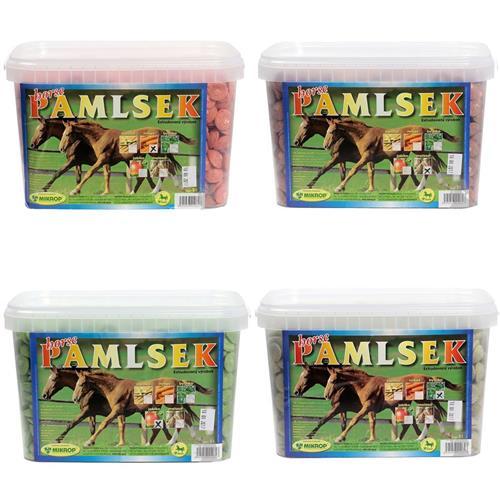 Pamlsky pro koně Mikrop, 2,5 kg - bylinkové Pamlsky pro koně MIKROP, bylinkové, 2,5 kg