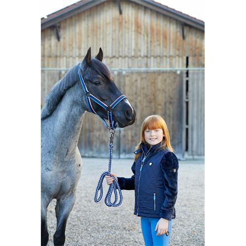 Dětská vesta Covalliero Grace, tmavě modrá - vel. 140/146 Vesta dětská Cov. Grace, tm. modrá, vel. 140/146