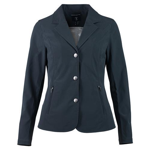 Dámské sako Horze Adele, softshellové, černé/antracitové - antracitové, vel. 40 Dámské sako Horze Adele, softshellové, tmavě modré