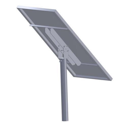 Držák solárního panelu 100 W se zemním vrutem, pozink Držák solárního panelu 100 W se zemním vrutem, pozink