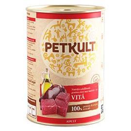 Konzerva pro psy PETKULT Adult, 400 g - hovězí