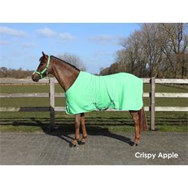 Odpocovací deka QHP, zelená - vel. 125/165 cm