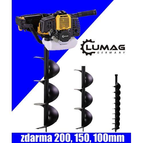 Motorový zemní vrták Lumag EB 520G Foto Půdní, zemní vrták - jamkovač Lumag EB 520G