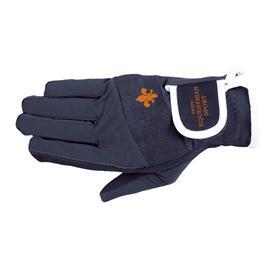 Jezdecké rukavice PFIFF, modré - vel. S