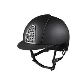 Jezdecká přilba KEP Cromo Textile - černá, vel. L