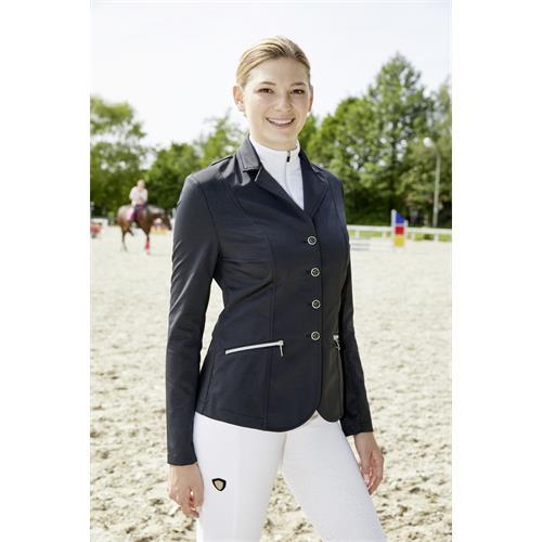 Jezdecké sako Covalliero Samantha, černé - vel. L Sako dámské Covalliero Samantha, černé, vel. L