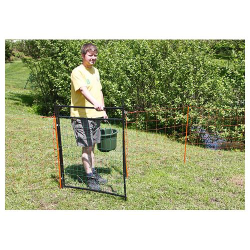 Vrátka k ohradním sítím - 86 x 105 cm Vrátka 86  x 105 cm k ohradním sítím do 90 cm