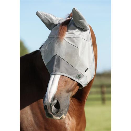 Maska proti hmyzu Premier Buster Standart Plus, stříbrná - vel. Cob Maska Premier Buster Standart, stříbrná, vel. Cob