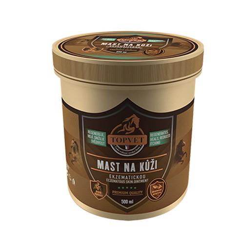 Mast na ekzematickou kůži Topvet - 500 ml Mast na ekzematickou kůži TOPVET, 500 ml