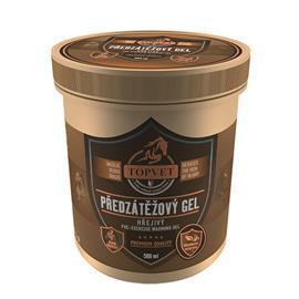 Hřejivý / chladivý gel na nohy Topvet - předzátěžový, 500 ml