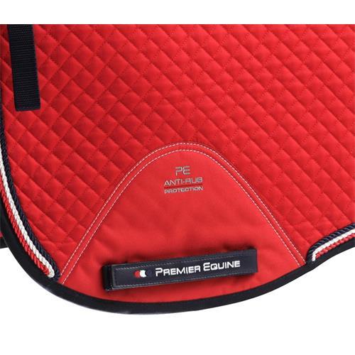 Drezurní podsedlová dečka Premier Equine Dressage - červená Dečka drezurní podsedl. Premier Dressage, červená