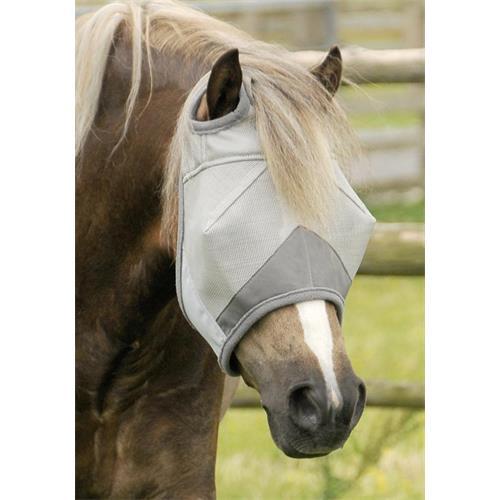 Maska proti hmyzu Premier Buster Standart, stříbrná - vel. Shetty Maska Premier Buster Standart, stříbrná, vel. Shetty