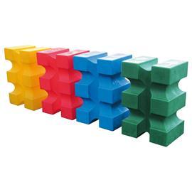 Podstavec pod kavalety, plastový, 88x55x40 cm - zelený