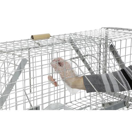 Past na odchyt živých zvířat - 118 x 33 x 42 cm Past na odchyt živých zvířat, 118 x 33 x 42 cm