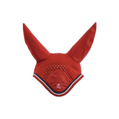 Čabraka na uši Premier Equine - červená, vel.pony Čabraka Premier Equine, červená, Pony