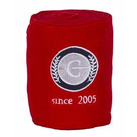 Fleecové bandáže Covalliero, 12 cm x 300 cm - červené