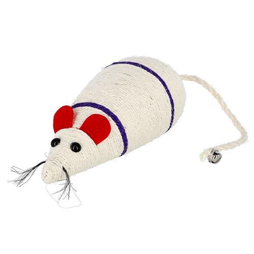 Hračka pro kočky sisalová myš, 31,5 cm Hračka pro kočky sisalová myš, 31,5 cm