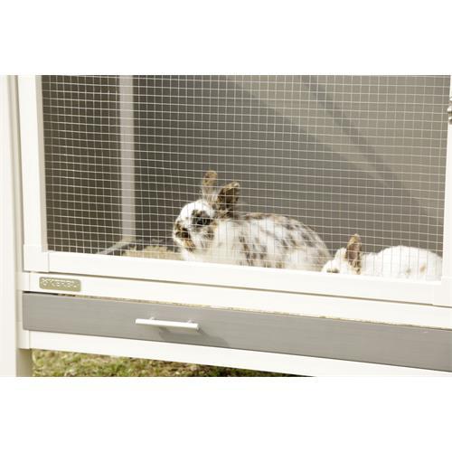 Plastová ECO králíkárna 116 x 57 x 82 cm Plastová ECO králíkárna 116 x 57 x 82 cm