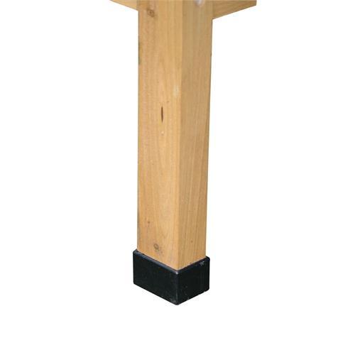 Dřevěná králíkárna Alfred 116 x 45 x 62 cm Noha opatřena plastovou krytkou.