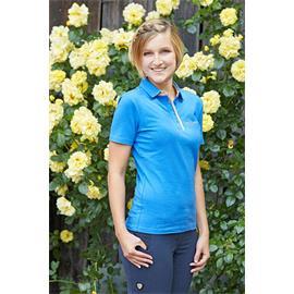 Dámské triko Covalliero Sophia, středně modré