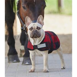 Deka pro psy Lumberjack fleece, kostka - 35 cm
