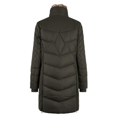 Dámský zimní kabát HV Polo Como - army, vel. M Kabát dámský HV Polo Como, army, vel. M