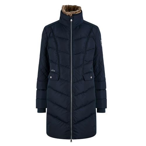 Dámský zimní kabát HV Polo Como - švestkový, vel. XS Kabát dámský HV Polo Como, švestkový, vel. XS