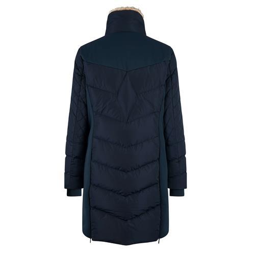 Dámský zimní kabát HV Polo Como - švestkový, vel. M Kabát dámský HV Polo Como, švestkový, vel. M
