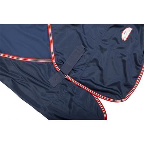 Lehká stájová deka Equi-Theme, modrá - 165 cm Deka stájová lehká, tmavě modrá, vel. 165 cm