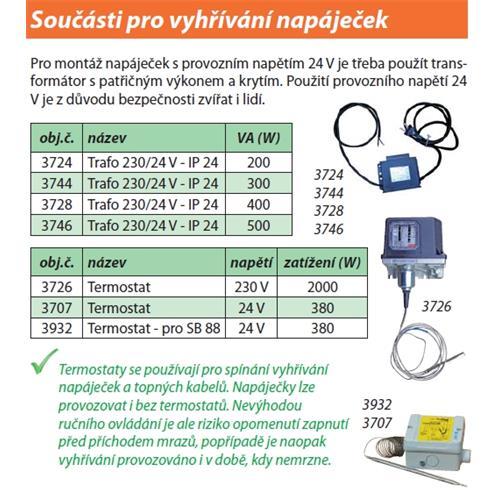 Trafo 230/24 V - 200 W Trafo 230/24 V - 200W