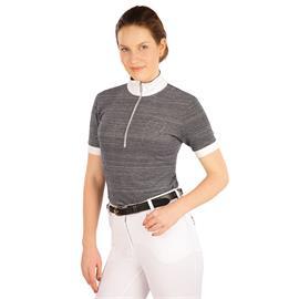 Dámské závodní triko Litex, šedý melír - vel. L