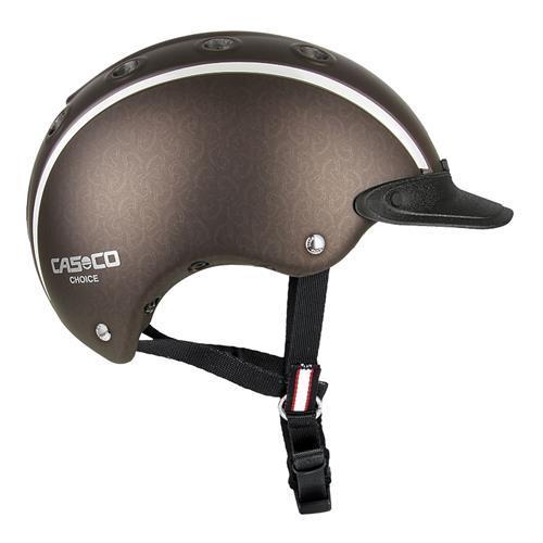 Jezdecká přilba Casco Choice 2, vel. 52-56 - hnědá, vel. 52-56 Přilba jezdecká CASCO, Choice 2, hnědá, vel. 52-56