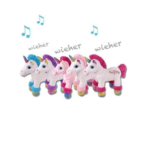Jednorožec plyšový ELT, hrající, směs barev Jednorožec plyšový ELT, hrající, směs barev