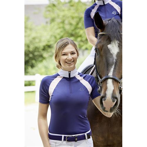 Dámské závodní triko Covalliero Lani - modré, XL Triko dámské závodní Lani, modré