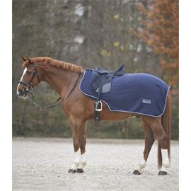 Bederní fleecová deka Waldhausen, modrá - vel. Pony
