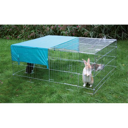 Výběh pro králíky, hlodavce a drůbež 144 x 112 x 60 cm, rovná střecha Výběh pro králíky, hlodavce a drůbež 144 x 112 x 60 cm, rovná střecha