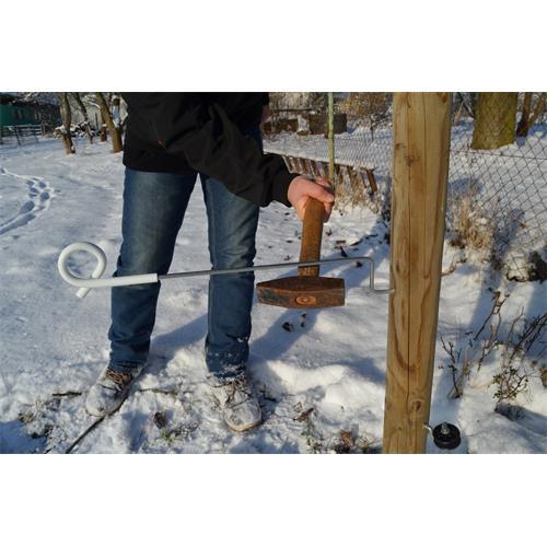 Izolátor pro elektrický ohradník LACME, XTENSE, pro předsazenou ohradu, 10 ks - délka 40 cm Izolátor pro elektrické ohradníky LACME, XTENSE, pro předsazenou ohradu 40 cm, 10ks