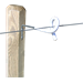 Izolátor pro elektrický ohradník LACME, XTENSE, pro předsazenou ohradu, 10 ks - délka 20 cm