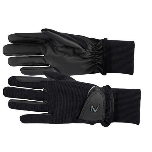 Dětské zimní rukavice Horze, černé - vel. M Rukavice zimní dětské Horze, černé, vel. M