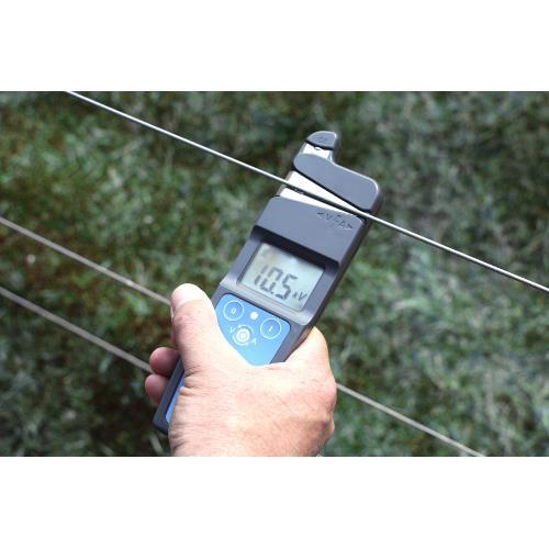 Zkoušečka a dálkový vypínač elektrického ohradníku Foto Napětí Dálkový vypínač elektrického ohradníku