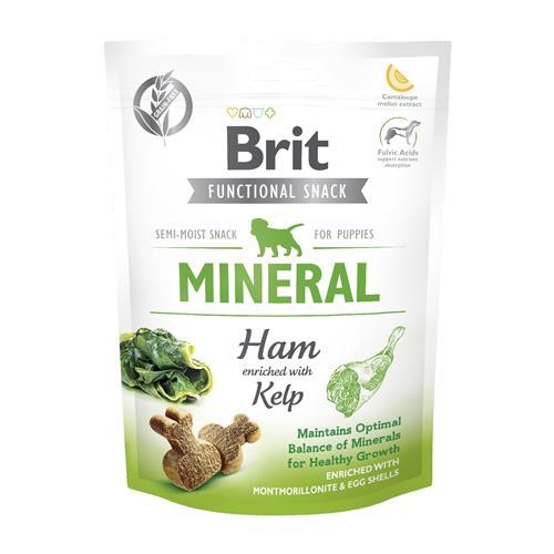 Brit MINERAL Ham and Kelp pro štěňata, 150 g BRIT snack MINERAL ham/kelp