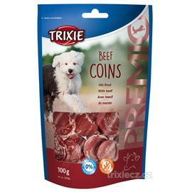 Pamlsek pro psy Trixie, hovězí kolečka, 100 g