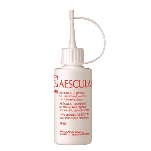 Olej pro mazání nožů stříhacích strojků Aesculap, 90 ml Olej Aesculap na ostří stříhacích strojků.