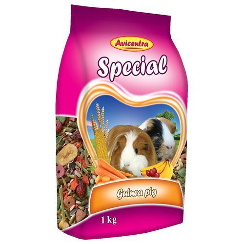 Krmivo pro morčata Avicentra Speciál, 1 kg Krmivo pro morčata Avicentra, Speciál, 1 kg