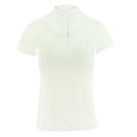 Dámské závodní triko Equi-Theme Dovil, bílé - vel. XS