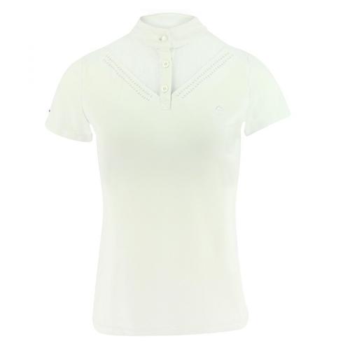 Dámské závodní triko Equi-Theme Dovil, bílé - vel. XXS Triko závodní dámské EKKIA Dovil, bílé, vel. XXS