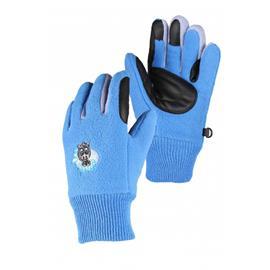 Dětské zimní rukavice QHP, modré - vel. 6-8 let