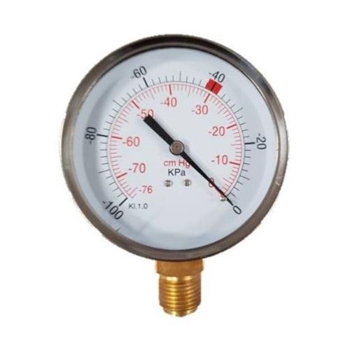 Vakuometr 0 - 100 kPa, 100 mm, 1/2